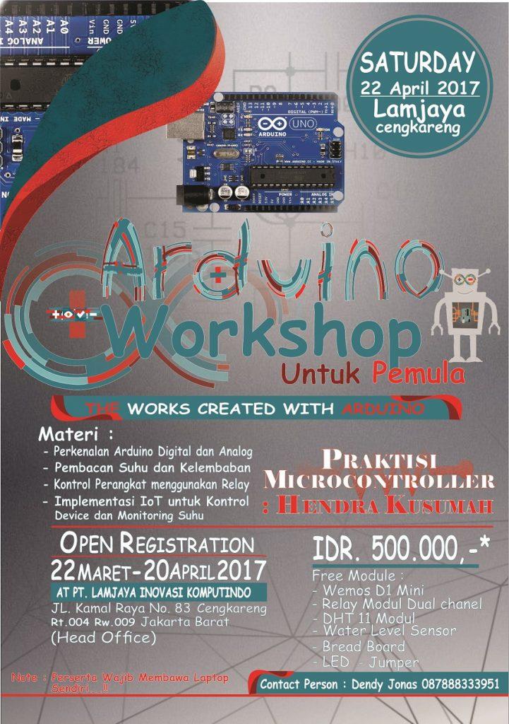 workshop arduino jakarta